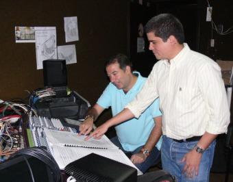 Justo Morao y Rafael Rondón