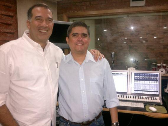 Rafael Rondón y Justo Morao