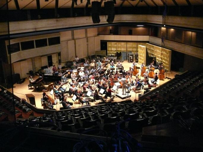 Orquesta Sinfónica de Venezuela grabando Navidad en el Alma