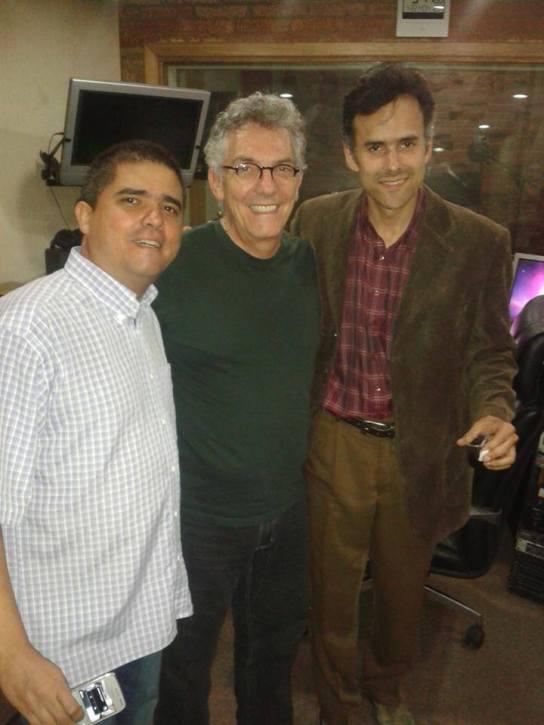 Justo Morao, Ilan Chester y Alfonso López Chollett