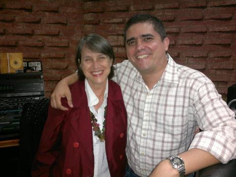 Cecilia Todd y Justo Morao