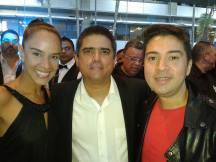 Nahití Ortega, Justo Morao y Edward Ramírez