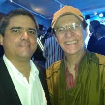 """Justo Morao y el Maestro José """"Pollo"""" Sifontes"""