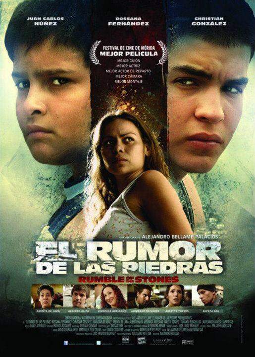 """Cartel """"El Rumor de las Piedras"""""""