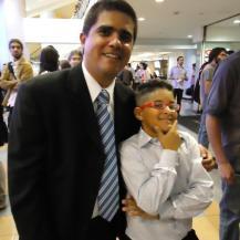 Junto con el co-protagonista Juan Carlos Núñez