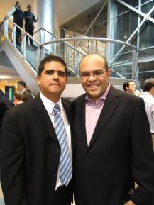 Justo Morao y Daniel Espinoza