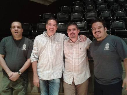 Alonso Lacruz, Rafael Rondón, Justo Morao, Ramachandra Díaz.