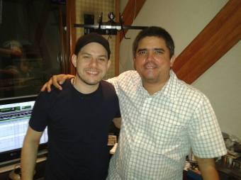 el maestro Joshua Dos Santos y el productor Justo Morao