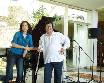 Ana María Otamendi y Andrés Eloy Rodríguez