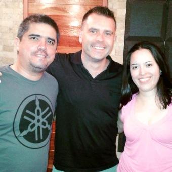Junto con el violista Carlos Paul Rondón