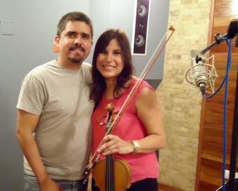 Justo Morao y Susana Salas