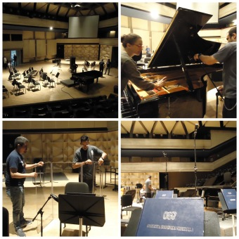 Produciendo música sinfónica