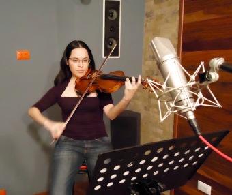 Isabel Camacho, violín solista