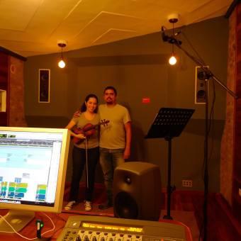 Isabel y Justo en SkyNote