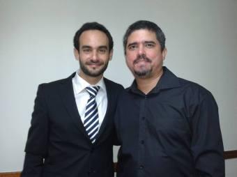 El pianista internacional Joâo Bettencourt y Justo Morao