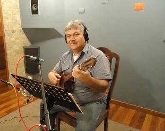 El cuatrista José Antonio Aguilar
