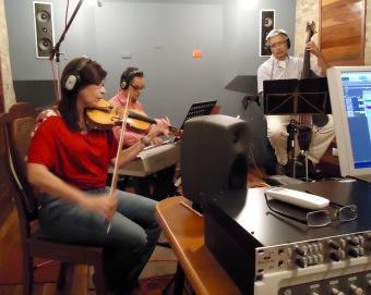 Grabando música zuliana del siglo XIX