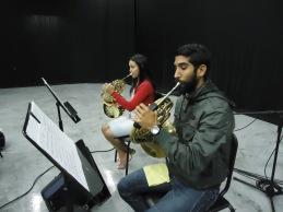 Lizbeth y Juan Miguel