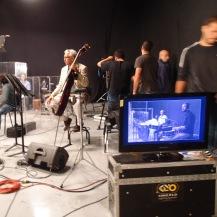 En la grabación del video - skynotestudio.com