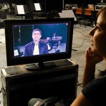 Justo Morao - En la grabación del video - skynotestudio.com