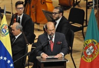 Embajador de Portugal en Venezuela Fernando Teles Fazendeiro