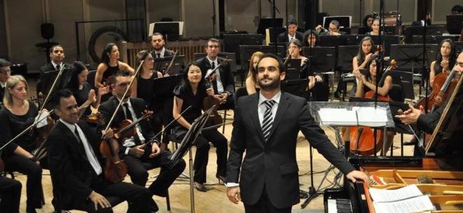 João Bettencourt con la OSV