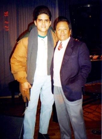 Armando Manzanero en una Clínica de Producción en Berklee College of Music