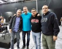 César Iván, Rafael, Justo y Alonso