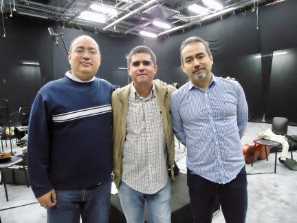 Igor, Justo y César Iván