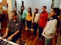 Rafael y los solistas de Enclave