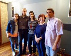 Vanessa, Rafael, Yelitza, Mara y Justo