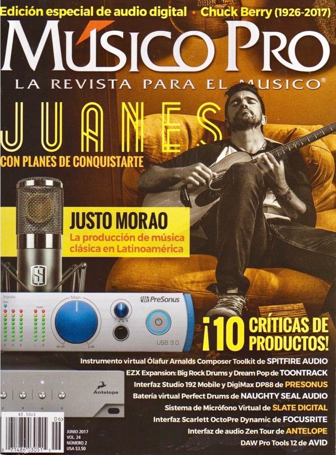 Músico Pro Junio 2017 - Portada