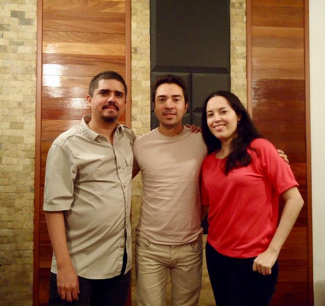 Justo Morao, Edward Ramirez, Isabel Camacho
