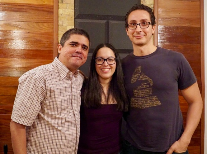 Justo Morao, Isabel Camacho y Fernando Curiel 2