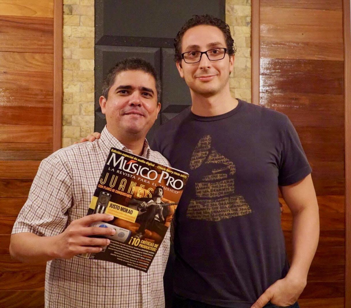 Justo y Fernando Curiel